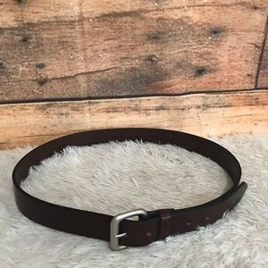 Cole Haan Brown Leather Belt 36/90